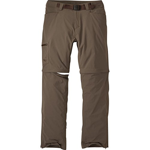 Outdoor Research Mens Equinox Convertible Pants (36 - Mushroom)