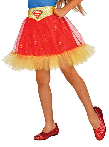 Imagine by Rubie's Kids Supergirl Skirt Costume, One Size