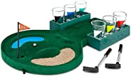 Golf Shots Drinking Game Set Table Game Interesting Convenient Glasses Stainless Desktop Family Indoor Club Le
