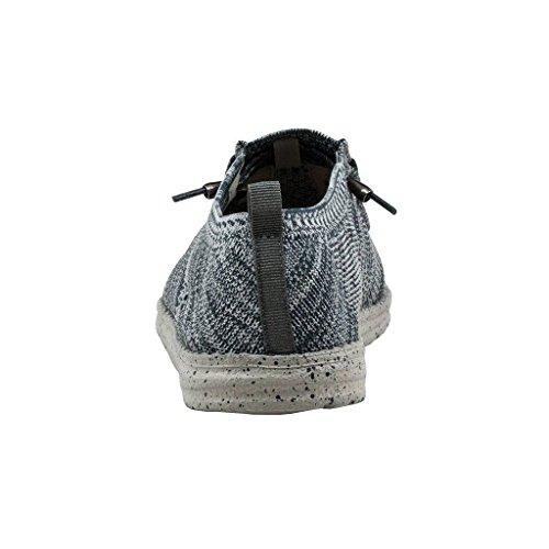 Shoes Uomini Maglia Lavorare Wally Grigio Multi Pezzo di Dude Grigio Un dRpfdg