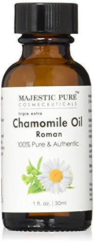 Majestic Pure Roman Chamomile Essential Oil, 1 fl Oz.