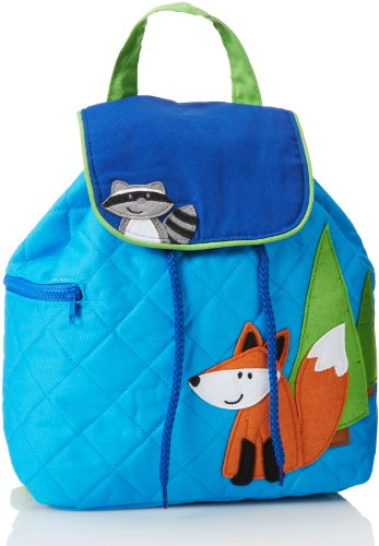 Stephen Joseph Little Boys' Quilted Backpack, Fox, One Size
