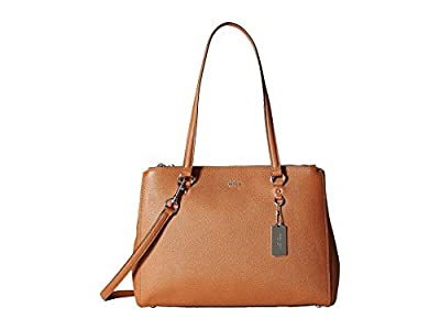 Coach 37148 Stanton Carryall in Crossgrain Leather (Saddle)