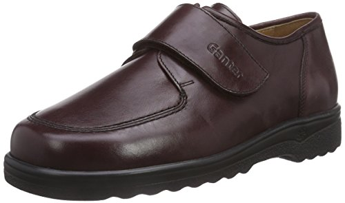 Ganter ERIC, Weite I - Zapatillas de casa de cuero niños rojo - Rot (bordo 4500)