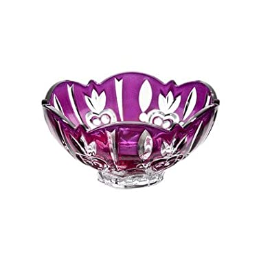 Crystal Case Large Candy Dish Color: Purple
