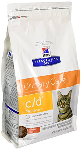 Hills C/D Multicare Bladder Health Cat Food 4 lb (Best Foods For Bladder Health)