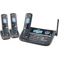 Uniden DECT4086 (2 Line) 1.9GHz DECT 6.0 Cordless Telephone Base + 2 DCX400 Cordless Handset