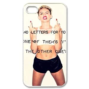 Clzpg DIY Iphone4,Iphone4S Case - Miley Cyrus cell phone case