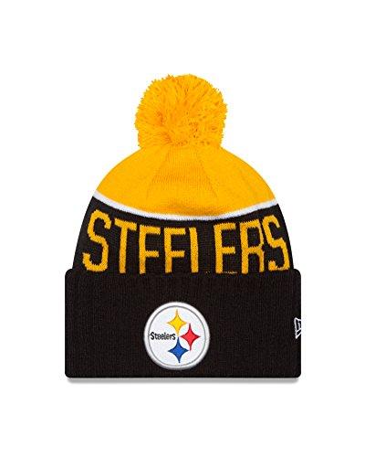 Pittsburgh Steelers 2015 Sport Knit Cuffed Pom Knit Cap   Beanie