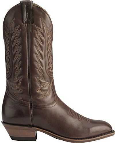 Boulet Mens Dress Cowboy Boot Round Toe - 8064 Tan KgeupM3k