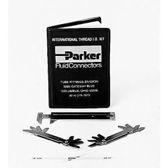 Parker Mik 1 Metric Thread Identification Kit Amazon Com
