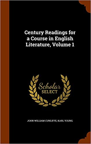 Audio gratuit pour les livres en ligne sans téléchargement Century Readings for a Course in English Literature, Volume 1 (French Edition) PDF PDB