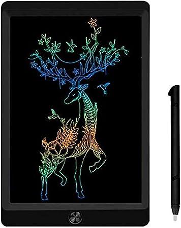 JOEAIS Tableta de Escritura LCD Color 8,5 Pulgadas Doodle Tabler de Escritura electrónica Tablero de Dibujo Digital Tableta de Dibujo gráfico Adecuado para niños, hogar, Escuela, Oficina (Negro)