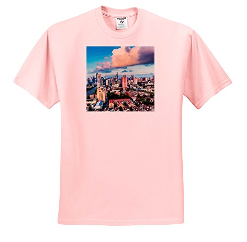Danita Delimont - Cities - Skyline Of Downtown, Pudong, Shanghai, China - T-Shirts - Light Pink Infant Lap-Shoulder Tee (12M) (TS_257153_72) (Pudong Shanghai China)
