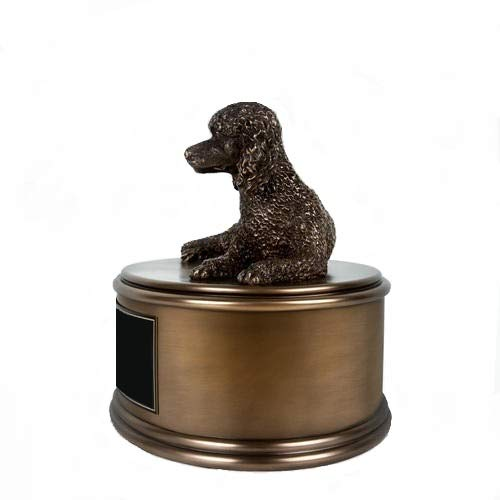 Perfect Memorials Custom Engraved Poodle Figurine Cremation by Perfect Memorials (Image #2)