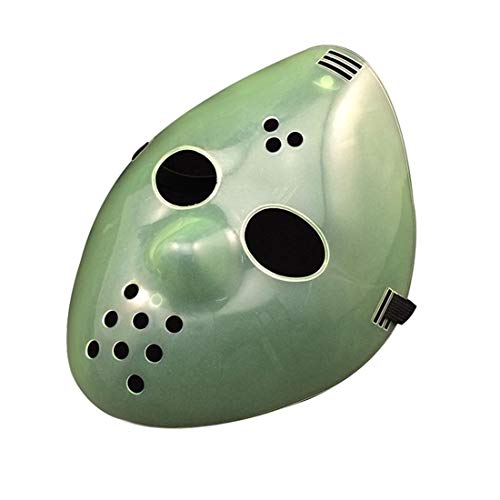 Jason Halloween Costume Mask for Vendetta theme parties Anonymous gatherings Rave Music festivals for old man boys kids woman adults -