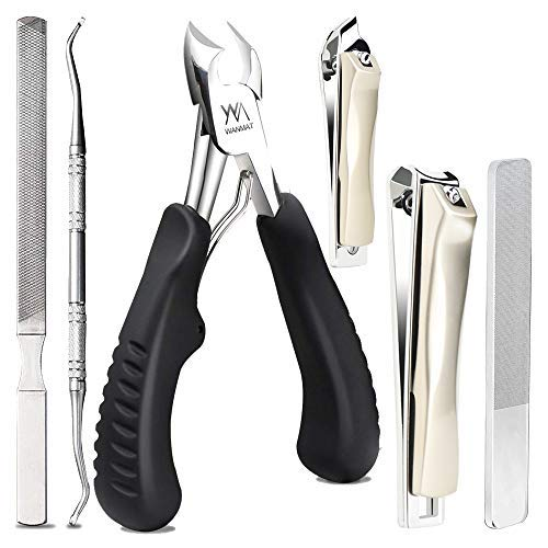 Toenail Clippers, Upgraded Toe Nail Clippers for Men, Professional Nail Clipper,