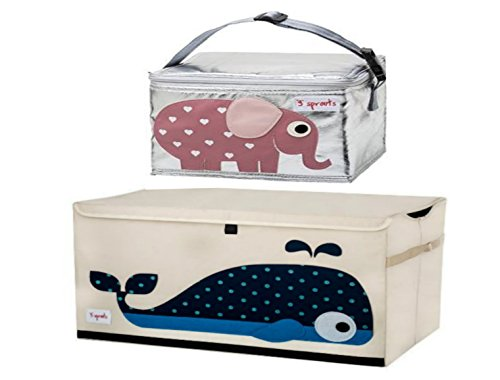 Cute Whale Chest Toy Storage Bin Container for Kids Pet Toys
