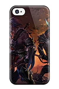 Anti-scratch And Shatterproof Diablo Iii Phone Case For Iphone 4/4s/ High Quality Tpu Case