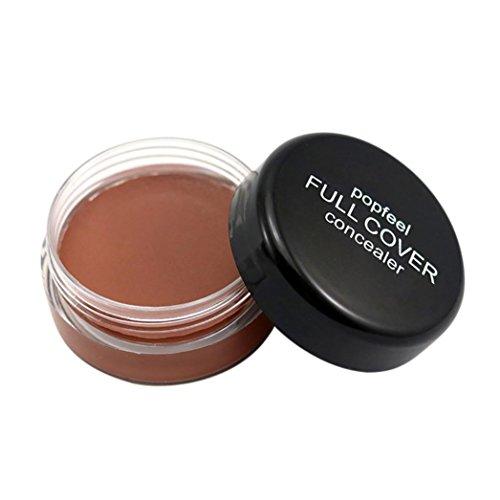 Oksale® Face Makeup concealer Foundation Palette Creamy Moisturizing concealer Cream (D) (Roller Girl Palette)