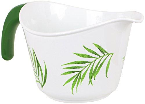 Corelle Coordinates by Reston Lloyd 2-Quart Microwave Safe Batter Bowl, Bamboo Leaf (2 Quart Microwave Safe Bowl)