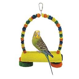 Penn Plax Loofah Kabob Bird Swing