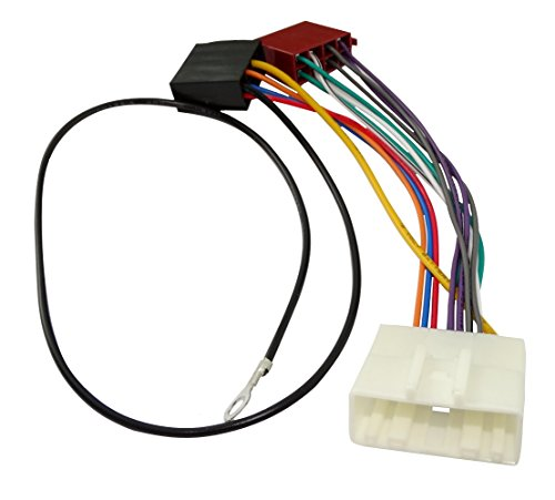 AERZETIX - AK8 ISO converter - adapter - cable radio adapter radio cable connector ISO cable connection: