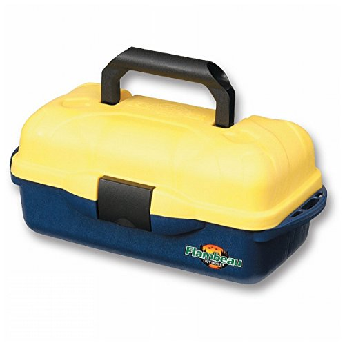 Flambeau Tackle Adventurer Kids Box (Blue/Yellow, 15x8.25x6.5-Inch)
