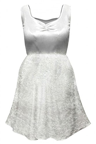 Sanctuarie Designs Womens Sexy White Angel Fairy Dress Plus Size Supersize Halloween Costume/ Dress Only/0x/White/ -
