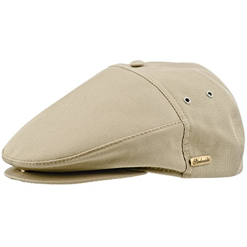 33ba4beba30 Sterkowski Men s Summer  Swedish  Flat Cap US 7 1 8 Creme