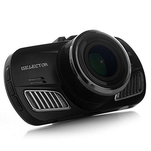 """UPC 712641712784, ISELECTOR Astro I 2.7"""" FHD Superior Night Vision Dash Cam Car Camera, 2560*1440P 30FPS 170° Wide Angle Lens Ambarella A12 CPU with G-sensor"""