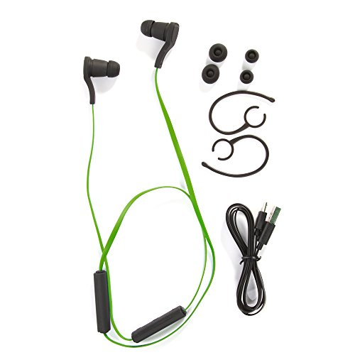 Foto4easy Mini Wireless Stereo Bluetooth 3.0 Hands-free Earphone for iPhone/iPad /iPod/Samsung Galaxy and Other Android Phone, Best Choice in Call, Sport, Running, GYM, Jogger, Exercises, Game, Driving and Cycling (Green)
