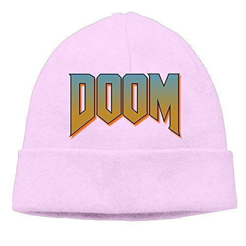 Price comparison product image Doom Logo Beanie For Men & Women