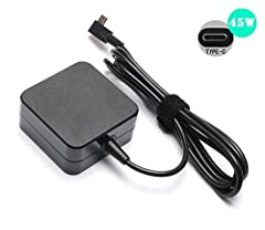 ★Specification:  Input: 100-240V~1.3A 50-60Hz Output: 5V/9V/15V/20V 3A/2.25A 45W(MAX) Interface: Type C / USB C / USB Type-C ★Compatible Models For :  Press [ Ctrl + F ] to search your models. New MacBook Pro 12-inch 13.3-inch 15-inch with Ty...