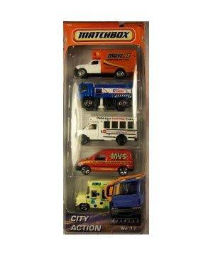 City Action No: 11 5pk Diecast Vehicle Set