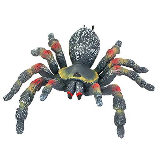 Amosfun Halloween Spider Figurine Toy Desktop Ornaments Prank Prop for Home Office Decoration ()