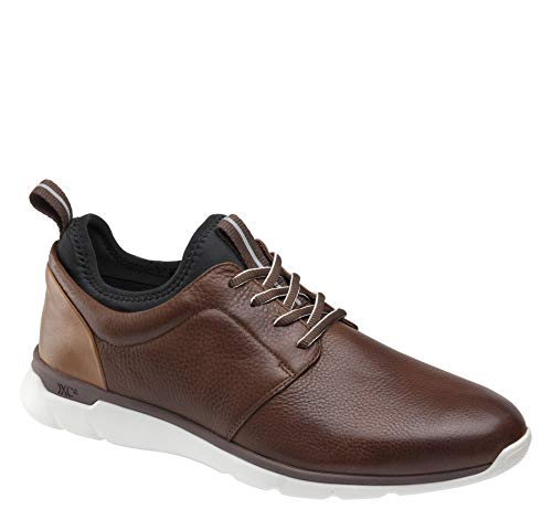Johnston & Murphy Men's XC4 Prentiss Plain Toe Shoe Mahogany Waterproof Full Grain 9 M/W US from Johnston & Murphy