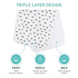 Baby Burp Cloths Set-5 Pack, Ultra Soft and Thick