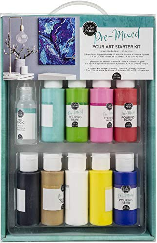 American Crafts 348493 Color Pour Starter Kit ()