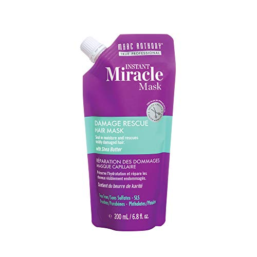 (Marc Anthony Instant Miracle Hair Mask, Damage Rescue, 6.8 oz)