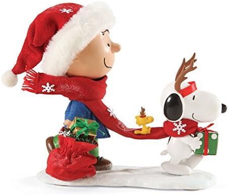 Department 56 Peanuts Reindeer Games Figurine