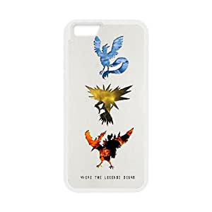 Pokemon iPhone 6 4.7 Inch Cell Phone Case White MUS9174335
