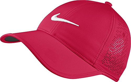 Racer Cap (Nike Women's Perforated Golf Cap (Variety Of Colors Available) (Racer Pink))