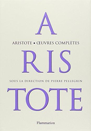 [E.B.O.O.K] Aristote : Oeuvres complètes W.O.R.D