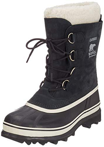 Sorel - Women's Winter Carnival Waterproof Boot for Winter, Black/Stone, 8 M US