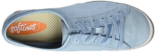 Softinos Pastel Pumps Blue Washed Leather Womens Isla H7r1qH