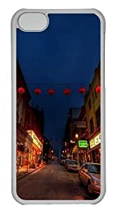 TYHde China town Custom iPhone 6 4.7 Case Cover Polycarbonate Transparent ending