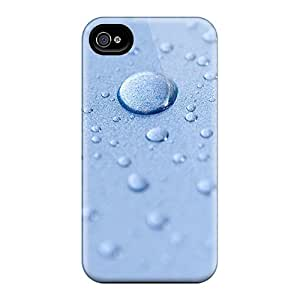 Iphone 4/4s Case Cover Water Drops Artistic Case - Eco-friendly Packaging
