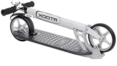 XOOTR Mg Teen Adult Kick Scooter – 800 lb Capacity – Life Long Backing – QuickClick Latch Folding Mechanism – Front Rear Brake
