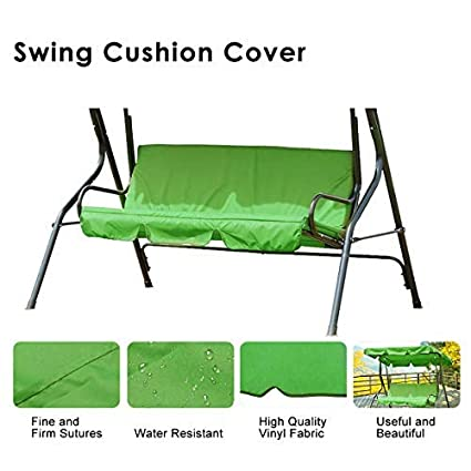 Sensational Essort Swing Cushion Cover Replacement Swing Dust Cover Suitable For Bq Colorado Garden Swing Loveseat Protective Waterproof Cover For Cushion 60 Lamtechconsult Wood Chair Design Ideas Lamtechconsultcom